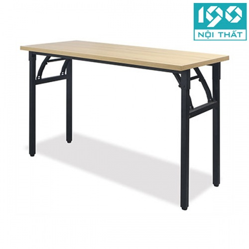 bàn gấp chân sắt mặt gỗ BGA12